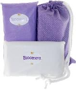 baby shower, lavender, light purple, purple, newbloomers, bloomers, diaper change kit, gift set
